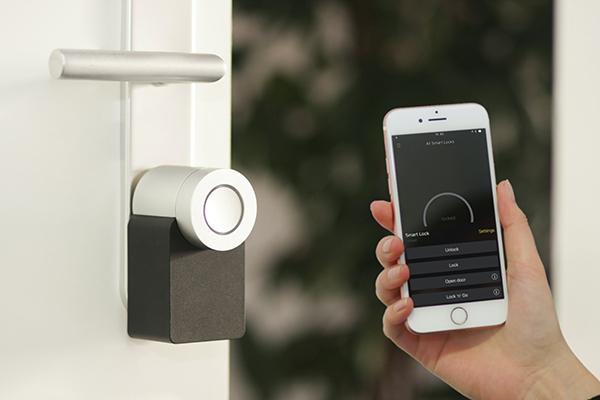 smart lock con smartphone